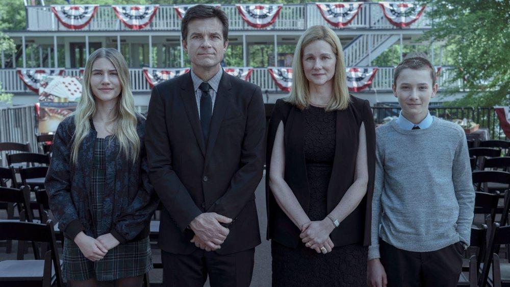 The Byrde family, led by Laura Linney as Wendy Byrde and Jason Bateman as Marty Byrde, from Ozark
