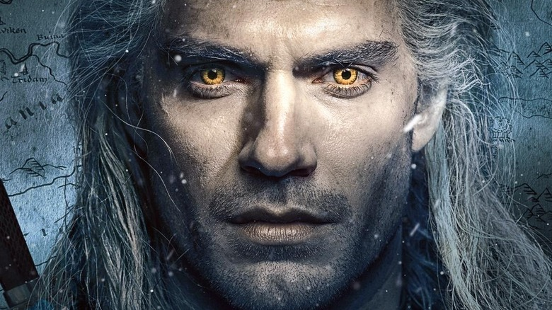 The Witcher Netflix promotional poster