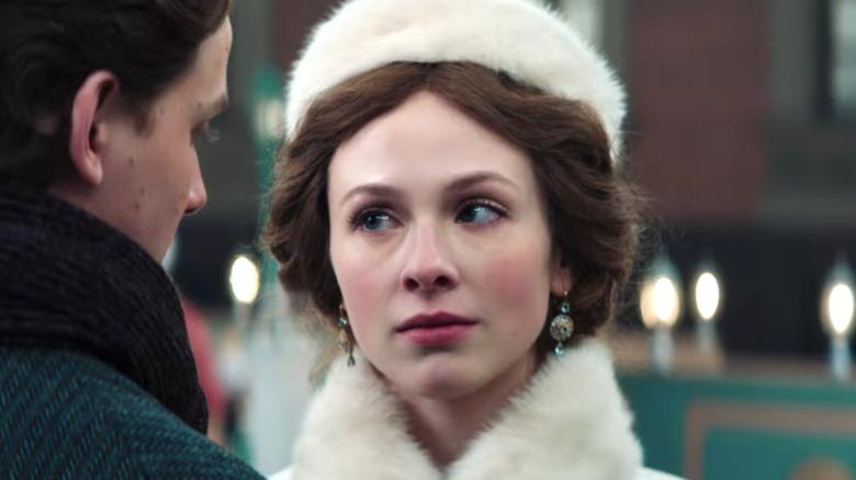 Alissa stern looking at Matvey