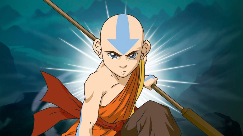 Nickelodeon promo art of Ang from The Last Airbender