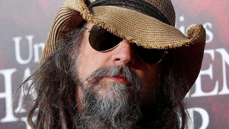 Rob Zombie wearing sunglasses