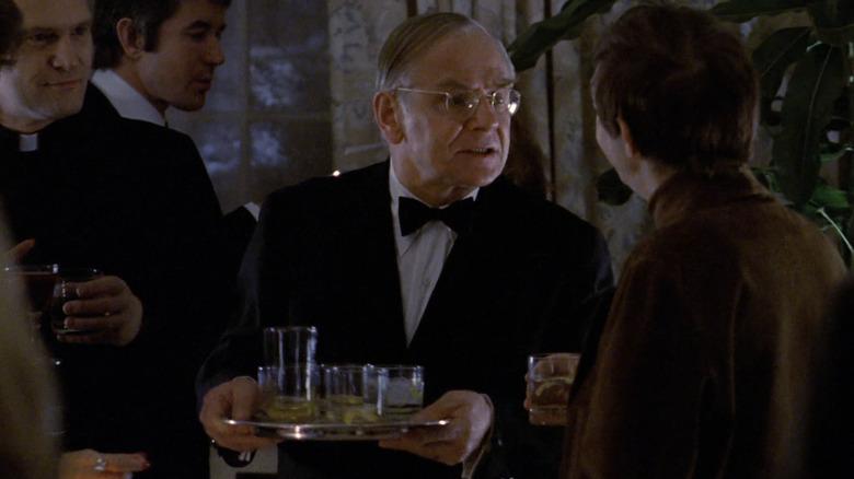 Rudolf Schundler serves drinks
