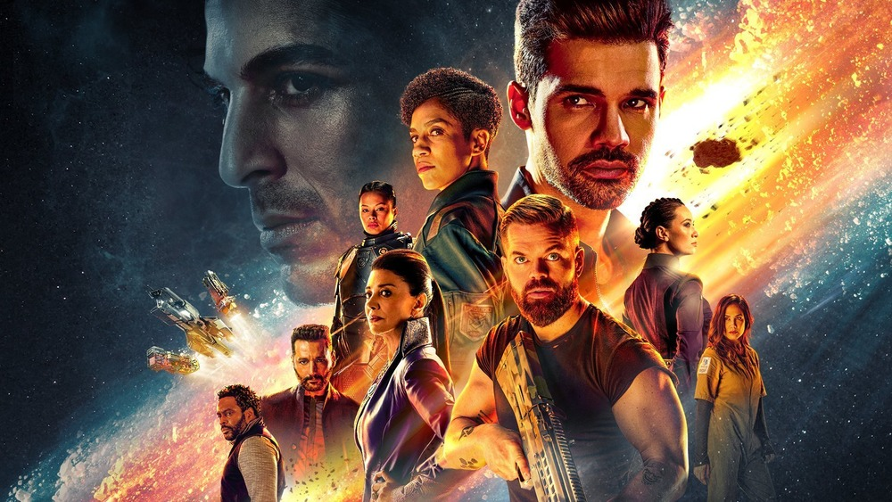 The Expanse cast promo art