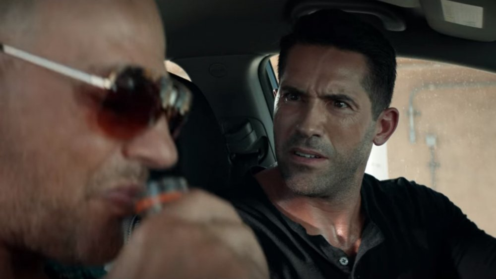Scott Adkins as French in The Debt Collector 2