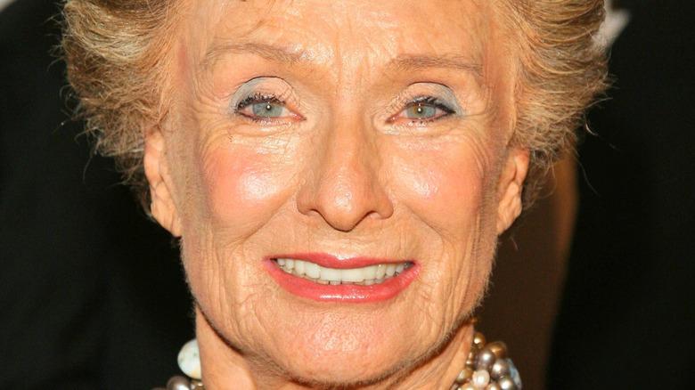 Cloris Leachman smiling