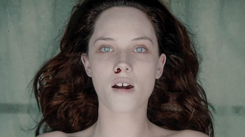 Jane Doe with mouth open