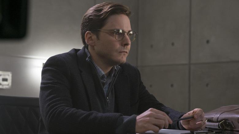 Daniel Bruhl as Zemo in Captain America: Civil War