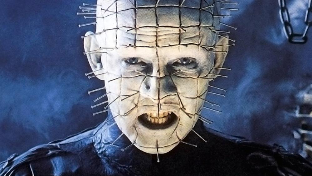Pinhead as seen on the Hellraiser poster