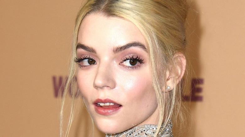 Anya Taylor-Joy in closeup