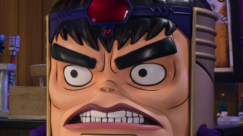 MODOK looking angry