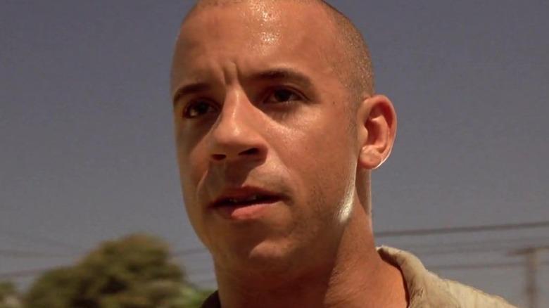 Vin Diesel Dominic Toretto sweating