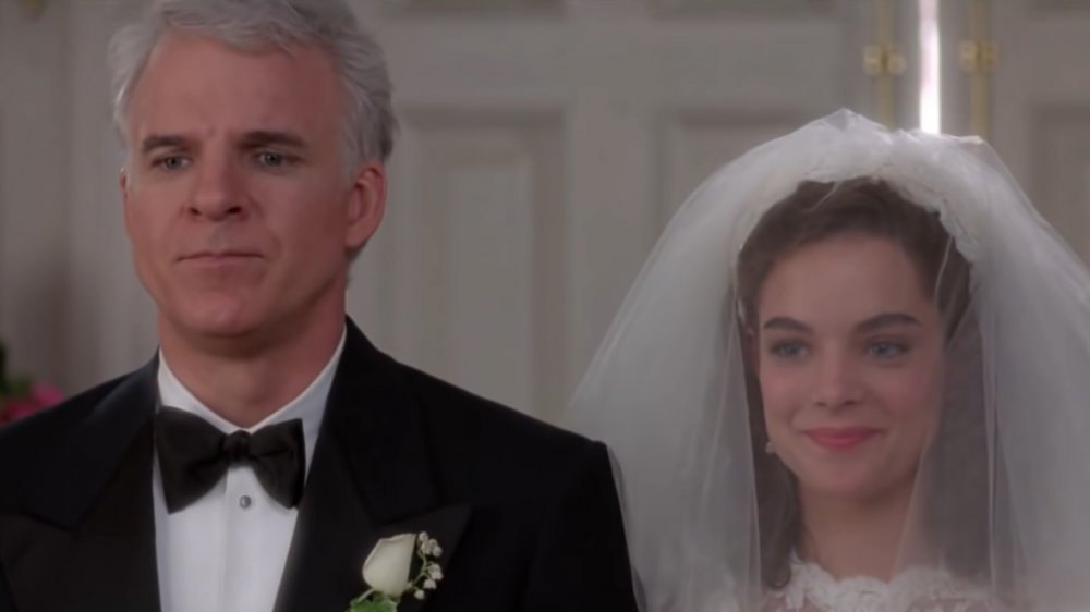 Steve Martin and Kimberly Williams in Father of the Bride