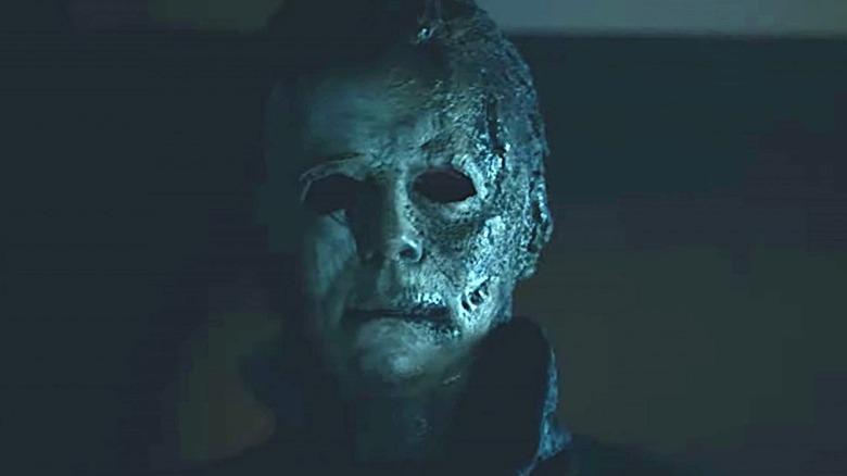 Michael Myers mask from Halloween Kills