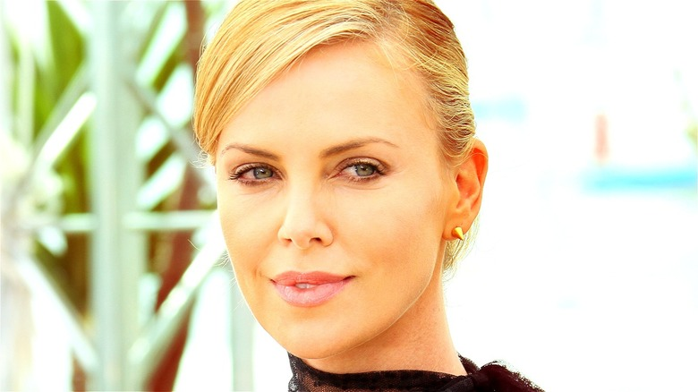 Charlize Theron smiling