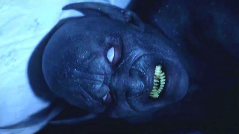 A demon in closeup