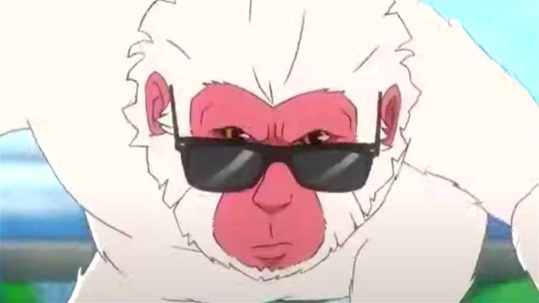 Hit-Monkey in sunglasses