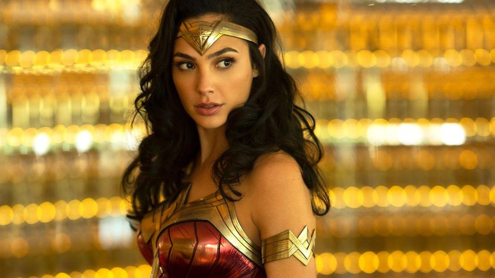 Wonder Woman in uniform