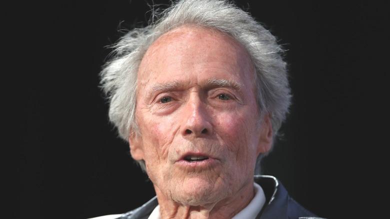 Clint Eastwood speaking