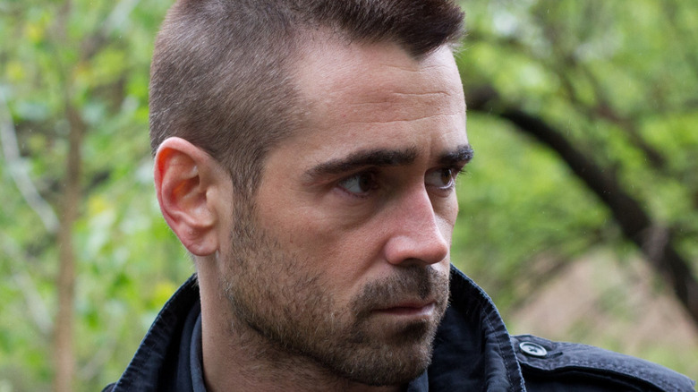 Colin Farrell Victor concerned