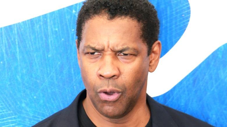 Denzel Washington posing