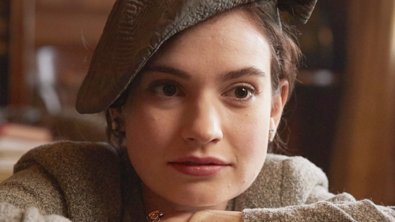 Guernsey Literary and Potato Peel Pie Society Lily James