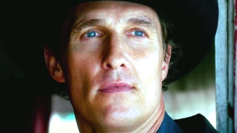 Matthew McConaughey in cowboy hat