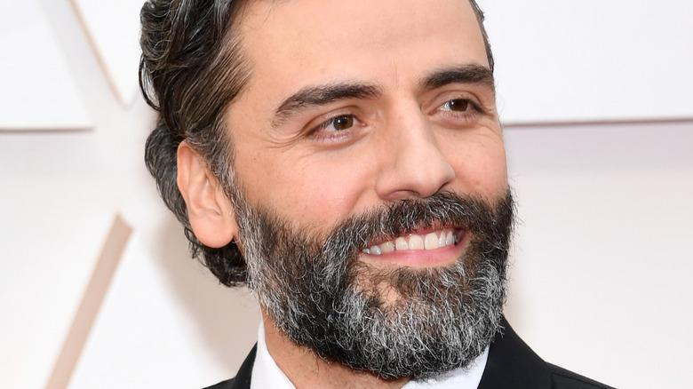 Oscar Isaac smiling