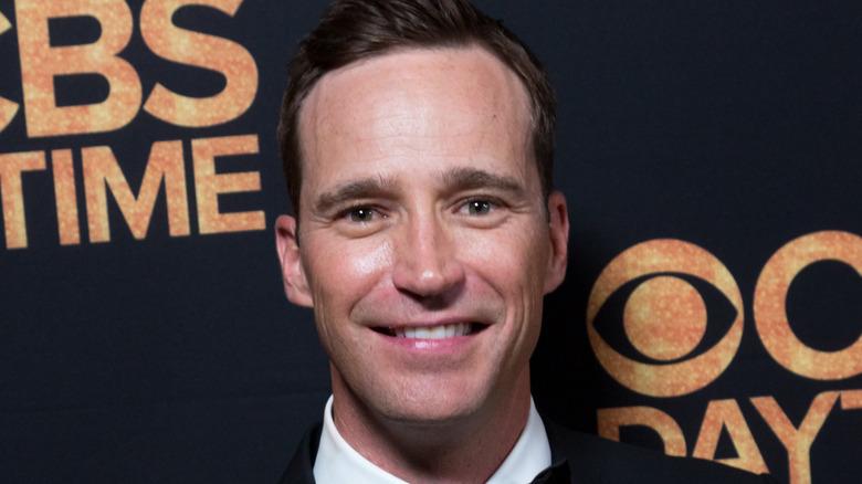 Mike Richards smiling at Daytime Emmy Awards