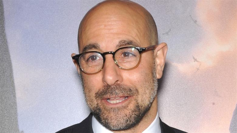 Stanley Tucci in glasses