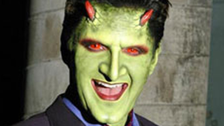 Andy Hallett Loren demon smiling