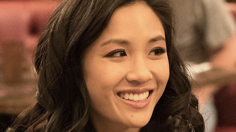Constance Wu as Jessica Huang smiling
