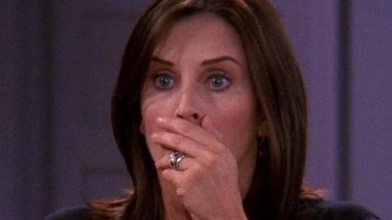 Monica scared