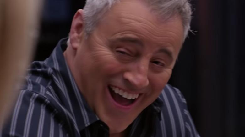 Matt LeBlanc laughing