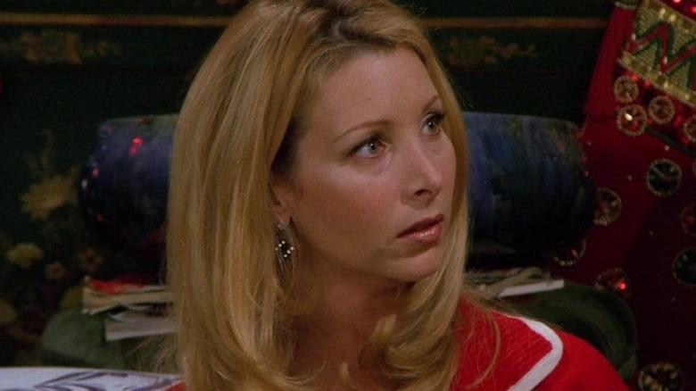 Phoebe looking shocked in Friends