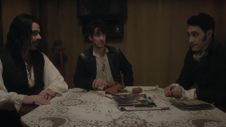 Vladislav, Deacon, and Viago in flat meeting
