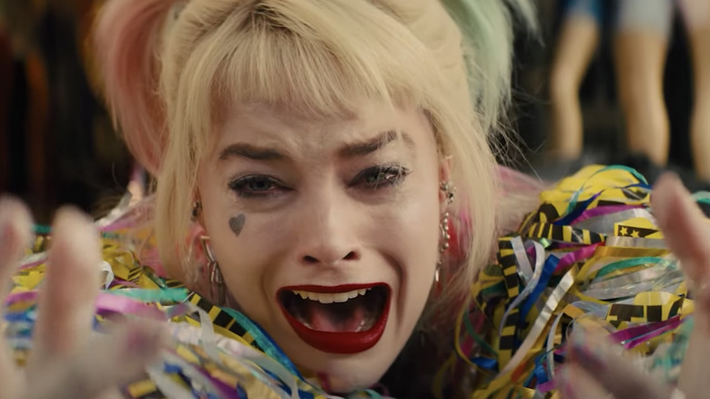 Harley Quinn mourns her egg sandwich