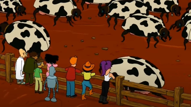 """Where The Buggalo Roam"" from Futurama"