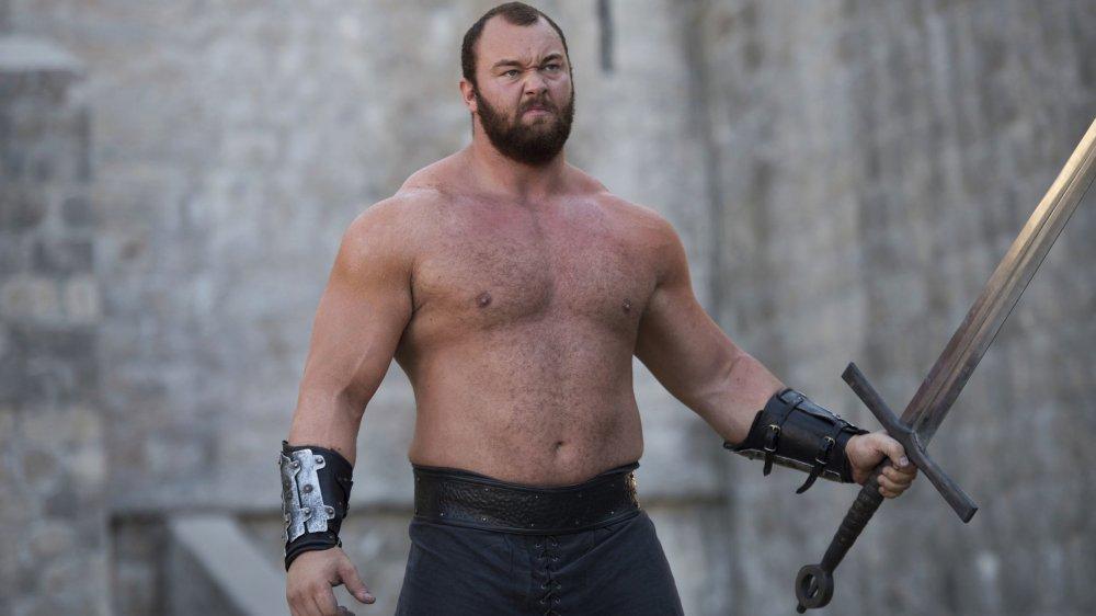 "Hafþór Júlíus Björnsson as Ser Gregor ""The Mountain"" Clegane in Game of Thrones"