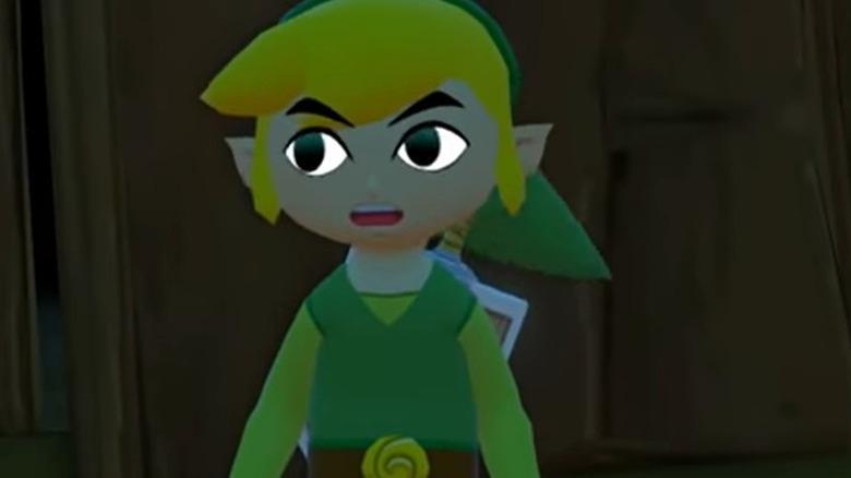 Link in Wind Waker