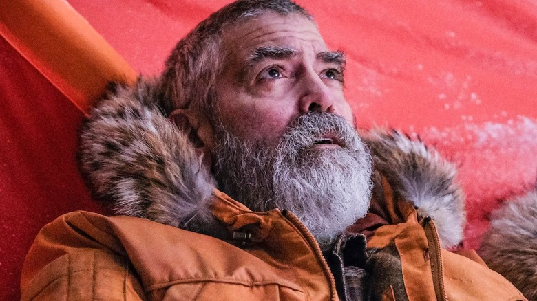 George Clooney grey beard