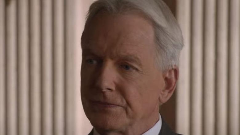 Mark Harmon Agent Gibbs grim