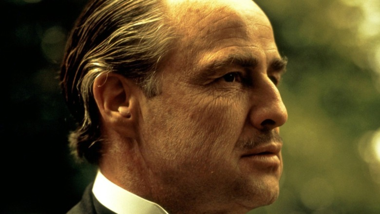 Marlon Brando as the Godfather