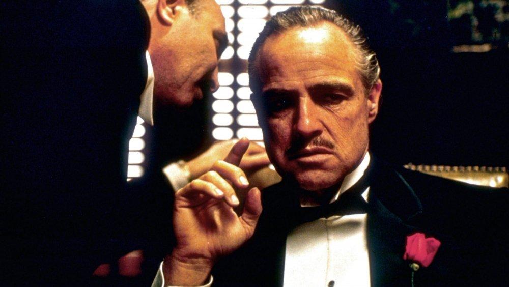 Marlon Brando as Vito Corleone in The Godfather