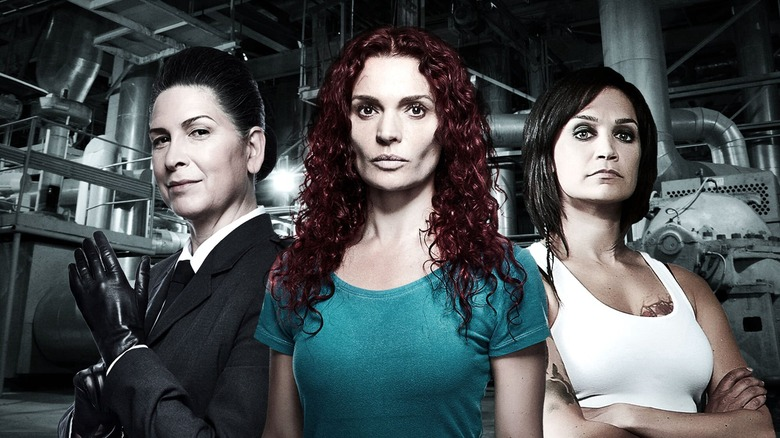 The cast of Netflix's Wentworth