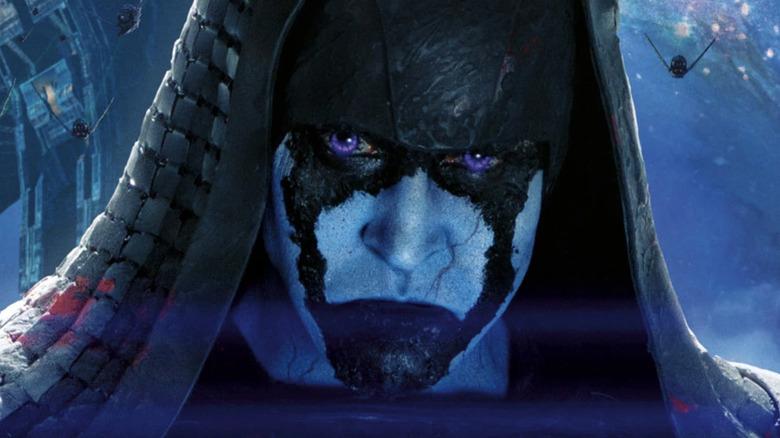 Ronan the Accuser hood purple eyes