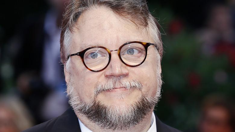 Guillermo del Toro wearing glasses