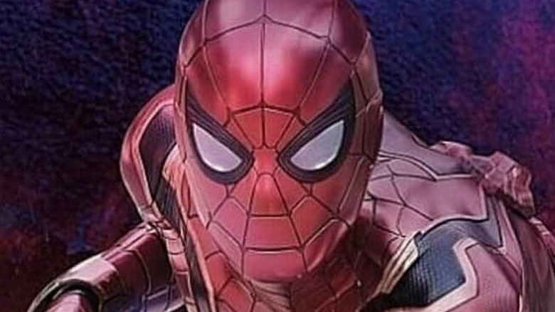Tom Holland as Peter Parker / Spider-Man in Avengers: Infinity War