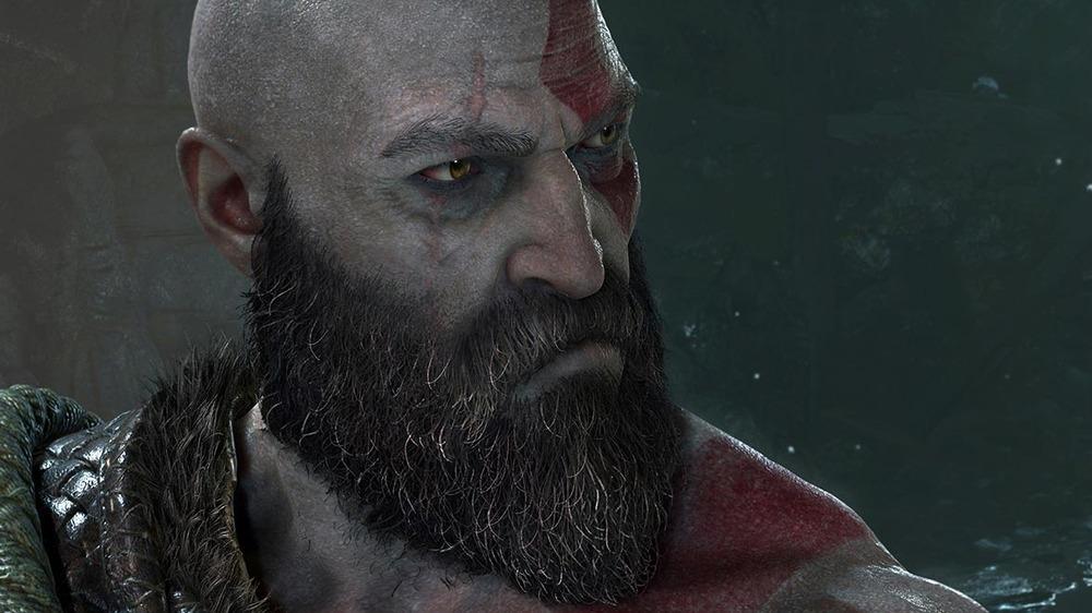 Kratos looking off