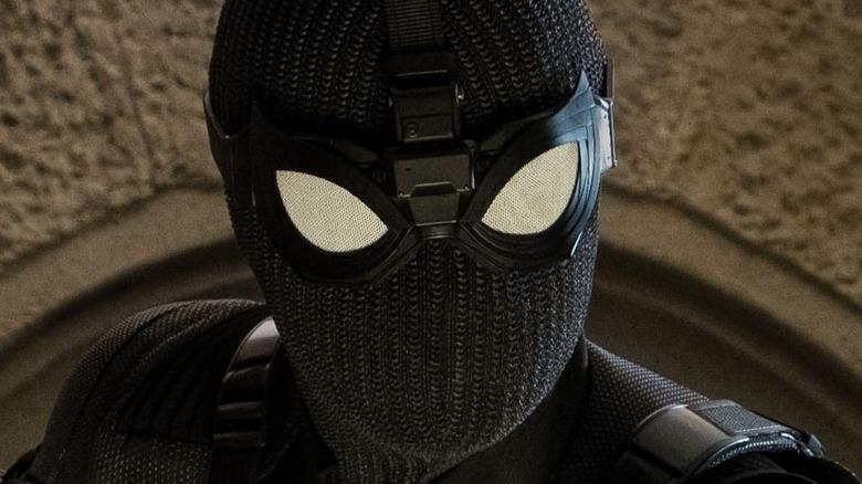 Spider-Man in stealth suit