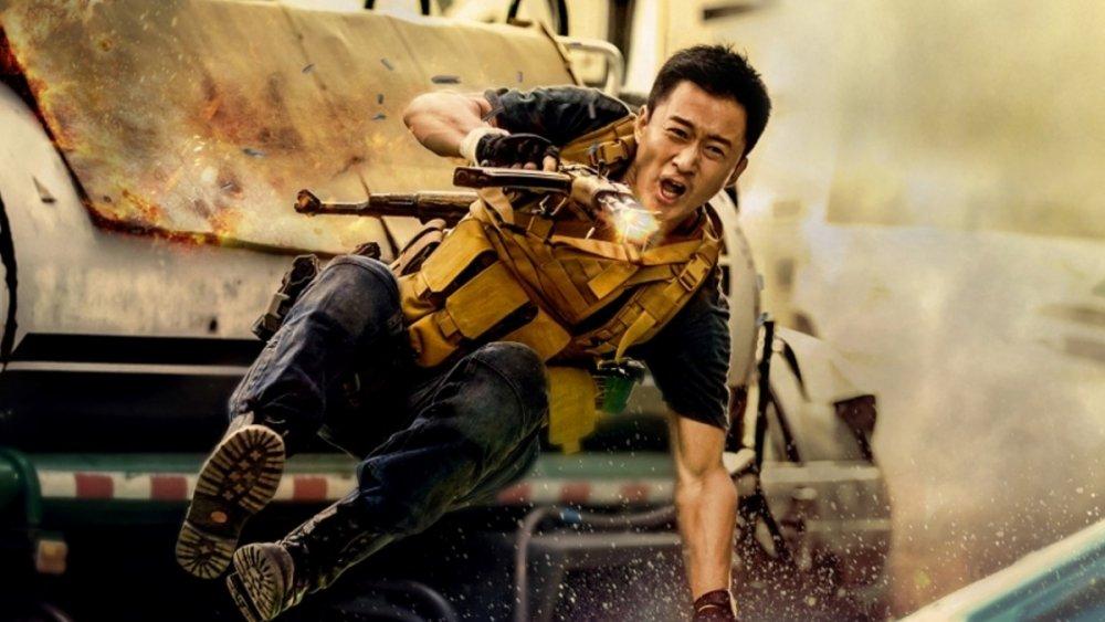 Wu Jing as Leng Feng in Zhan Lang 2